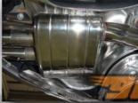 Quicksilver спортивная задняя секция глушителя для Bentley Continental GT 04+
