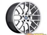 Beyern Spartan Hyper Silver Wheel 17x8 5x120 +15mm
