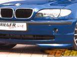 Губа на передний бампер Rieger для BMW E46 седан 02-05