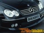 Передний бампер с парктрониками Brabus на Mercedes CLK W209 03+