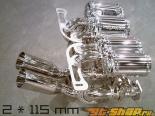Capristo Twin Sound Valved выхлоп w/o Remote Lamborghini Murcielago 01-05