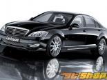 Пороги Carlsson для Mercedes S550 & S600 W221 07+