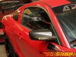 Карбоновые зеркала с линзами Carbign Craft на Ford Mustang 05+
