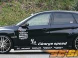 Пороги Chargespeed для Subaru WRX STI GRB 08+