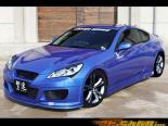 Обвес по кругу Chargespeed 4-части для Hyundai Genesis Coupe 09+