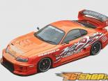 Карбоновые зеркала Chargespeed Super GT на Toyota Supra JZA80 93-98