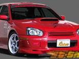 Решётка радитора Chokets WRX на Subaru WRX|STI 04+