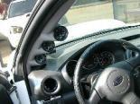 Lotek Triple A-Pillar Pod Subaru WRX Wagon 02-07