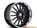 Coventry Whitley Gloss Чёрный with Зеркала Cut Lip Диски 18x8.5 5x108 +42mm