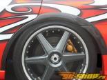 Карбоновые накладки на задние крылья ChargeSpeed для Subaru WRX STI 02-07
