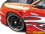 Передние крылья ChargeSpeed D-1 20mm на Subaru WRX STI GD-F 2006-2007