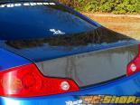 ChargeSpeed Карбон задний багажник Infiniti G35 Coupe 03-07