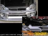 Решётка радитора C-West V2 для Subaru WRX 02-03