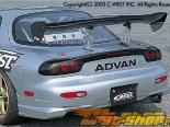 Задний бампер C-West II для Mazda RX7 92-03