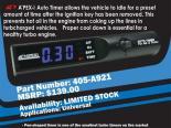 Apexi Limited Edition Синий LED Auto Timer #21509