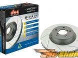 DBA Street Series тормозные диски : Mitsubishi Eclipse 11/94-1999 AWD w/ Solid задний тормозные диски (задний пара) #22280