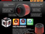 """DC Sports Сухой Element No-Oil Replacement Air универсальный фильтр 4.50"""" Inlet"""