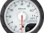 Defi Advance CR Датчик 52MM температуры выхлопа Белый [DF08501]