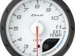 Defi Advance CR Датчик 60MM температуры выхлопа Белый [DF09301]