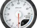 Defi Advance CR Датчик 60MM тахометр 9K RPM Белый [DF09401]