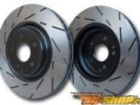 EBC Brakes Ultimax Slotted Sport задний Rotor Mitsubishi Lancer GTS 2.0L 08-09