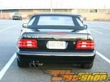 Eisenmann задний Muffler выхлоп Dual Round Tip Mercedes SL280-320 R129 7/98-01