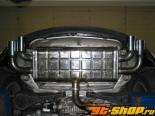 Eisenmann задний Muffler выхлоп Quad Tip 76mm Audi A3 2.0 TDI Typ 8P 03+