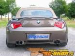 Eisenmann задний Muffler выхлоп Quad Round Tip BMW E85-E86 Z4M 3.2L 06+