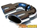 Fabspeed Maxflo Muffler Bypass Pipes with Tips Porsche 993 TT 96-98