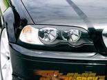 FK Auto передние фары Covers BMW E46 3-Series Coupe 99-03