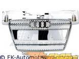 Хромированная решётка радиатора с эмблемой FK Auto Sport на Audi TT MK2 07-10