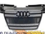 Решётка радиатора с эмблемой FK Auto Чёрный|Хром Sport на Audi TT 07-10