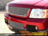 Вставки в верхнюю решётку радиатора Grillcraft MX Series для Ford Explorer Седан 02-05