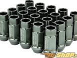 Godspeed Project Godspeed Type 3 50mm Lug Nuts 20 pcs. Set M12 X 1.25 Gun Metal универсальный