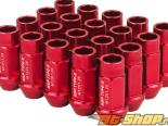 Godspeed Project Godspeed Type 3 50mm Lug Nuts 20 pcs. Set M12 X 1.25 Красный универсальный