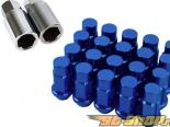 Godspeed Project Godspeed Type 4 50mm Lug Nuts 20 pcs. Set M12 X 1.5 Синий универсальный