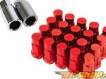 Godspeed Project Godspeed Type 4 50mm Lug Nuts 20 pcs. Set M12 X 1.5 Красный универсальный