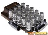 Godspeed Project Godspeed Type 4 50mm Lug Nuts 20 pcs. Set M12 X 1.5 серебристый универсальный