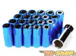 Godspeed Project Godspeed Type 5 55mm Lug Nuts 20 pcs. Set M12 X 1.5 Синий универсальный