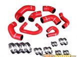 Godspeed Project High Performance 4-PLY Красный Turbo&Heater Silicone Комплект патрубков Mitsubishi EVO 7|8|9 CT9A 4G63T 2.0L Turbo 01-07