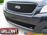 Вставки в верхнюю решётку радиатора Grillcraft MX-Series на Subaru Legacy 10+