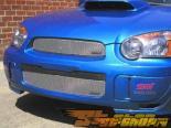 Вставки в верхнюю решётку радиатора Grillcraft MX Series на Subaru WRX STI 04-05