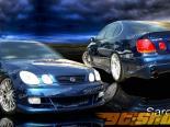 Аэродинамический Обвес на Lexus GS300/400 1998-2005