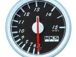 HKS DB Temperature Meter 60mm Mechanical Чёрный