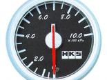 HKS DB Pressure Meter 60mm Mechanical Чёрный