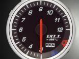 HKS RS DB температуры выхлопа Meter 60mm Electronic Чёрный/Amber