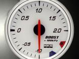 HKS RS DB Boost Meter 60mm Electronic Белый
