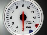 HKS RS DB температуры выхлопа Meter 60mm Electronic Белый