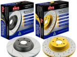 DBA задний Street Series Slotted & Drilled тормозной тормозные диски 00-09 Honda S2000
