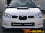Карбоновая накладка на передний бампер APR на Subaru WRX|STi 06+
